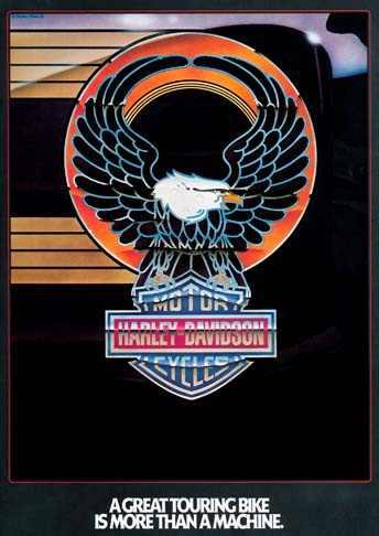 placa decorativa(1913) harley-davidson hd moto aguia