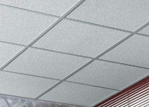 placa desmontable knauf de fibra mineral amf ecomin orbit