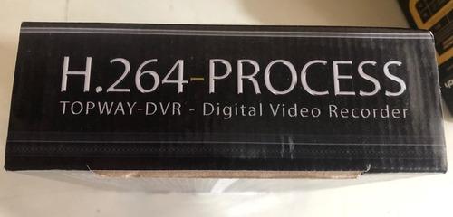 placa digital vídeo recorder h.264 process - top way - dvr
