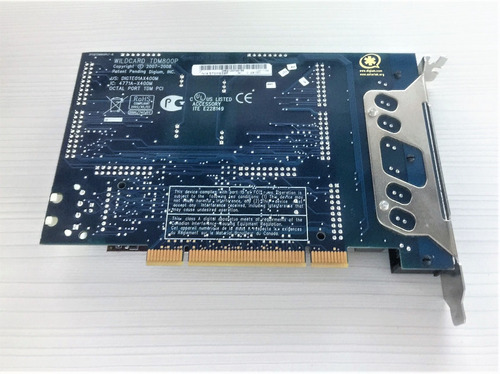 placa digium tdm-800p 8 fxo centrales ip asterisk voip full