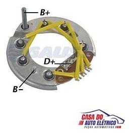 placa diodo f1000 f350-sistema lucas 035 amperes conjunto