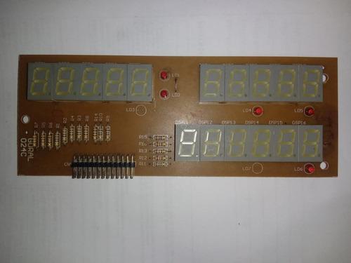 placa display vendedor balança gural ese-15
