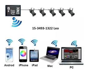 Placa Dmx Wifi
