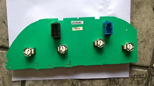 placa do circuito velocimetro do painel uno, pálio economy