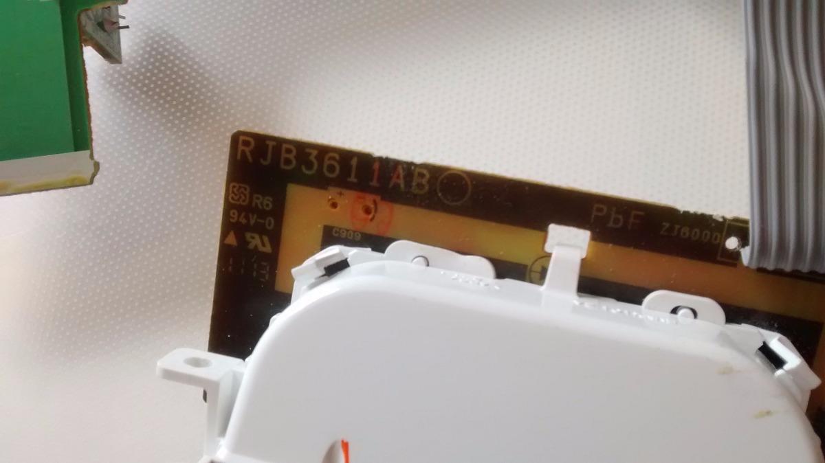Placa Do Display Som Panasonic Sa