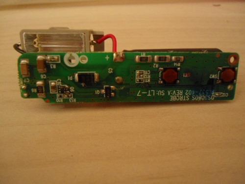 placa do flash da câmera multilaser dc-318