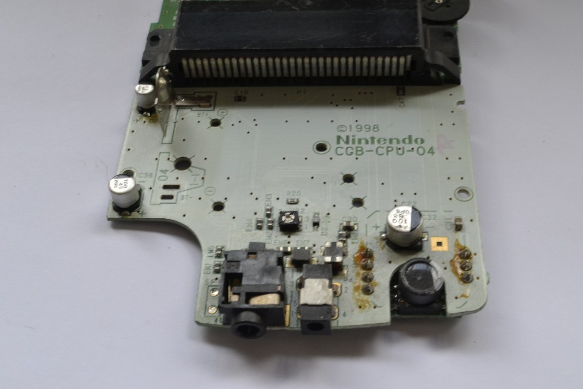 Game boy color quanto vale - Placa Do Game Boy Color Com Defeito Carregando Zoom