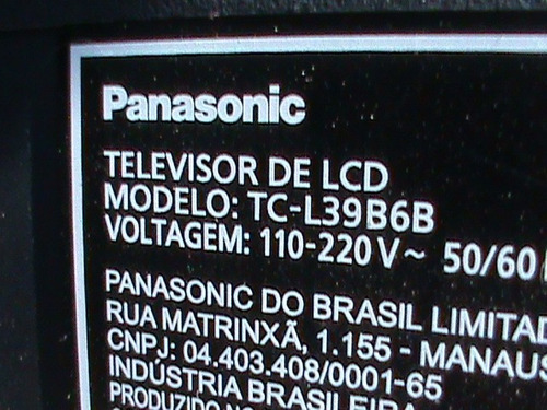 placa drive led panasonic tc-l39b6b