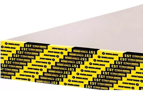 placa durlock est 12.5mm 1.20x2.40m distribuidor oficial n°1