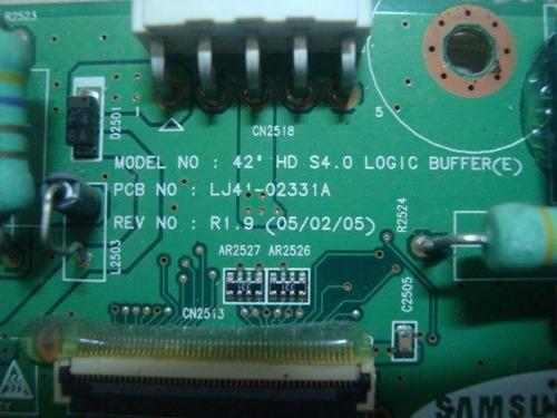 placa e-f buffer tv samsung