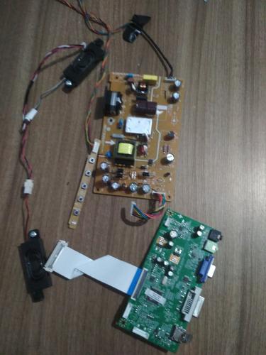 placa e peças monitor aoc e2275swj