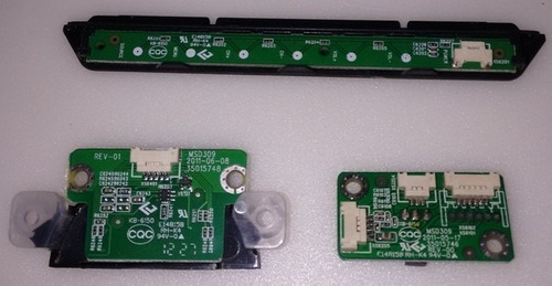 placa e teclado de funçoes + sensor tv semp le4050 le4052