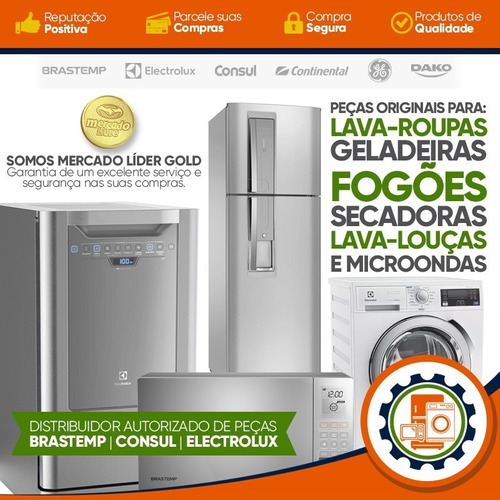 placa eletrônica interface lavadora roupas electrolux lte12