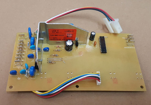 placa eletrônica+pressostato lavad colormaq lca 11kg - 220v