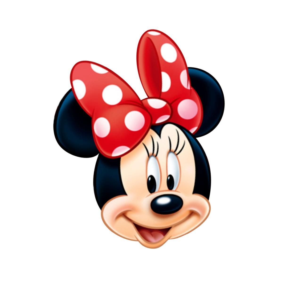 Placa Elipse Cabeca Da Minnie Vermelha 60 Cm Envio Em 24hrs R