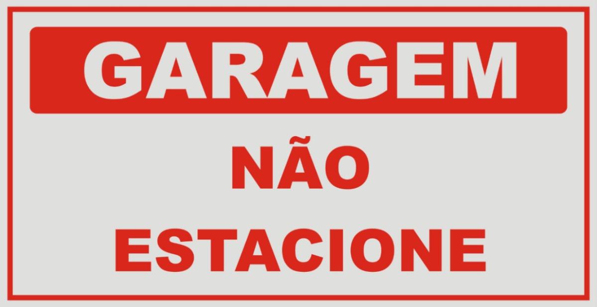 Resultado de imagem para ESTACIONAR NA FRENTE DE GARAGEM