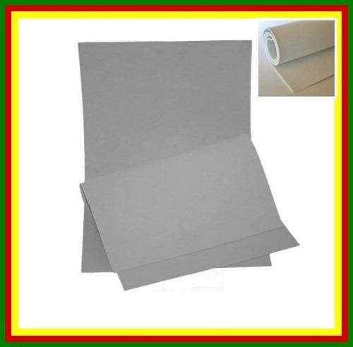 placa eva 0,50x1,10 mts  p/ maquete ho 1:87 (frateschi)