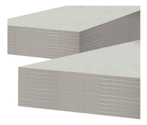 placa exterior cementia durlock cementia 1,2 x 2,4 m 8 mm