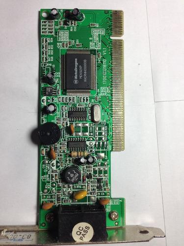 placa fax modem pci lg / inf-028