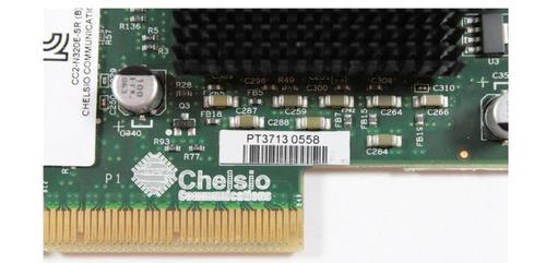 placa fibra chelsio cc2-n320e-sr dual port 10gb pcie x8 ethe