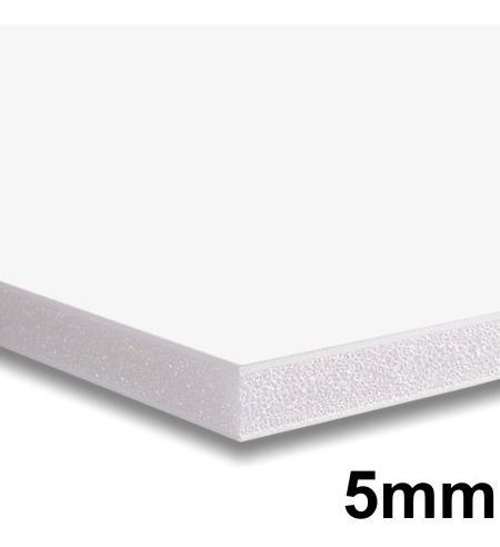 placa foam board 122x244cm 5mm contracole papel espuma *reti