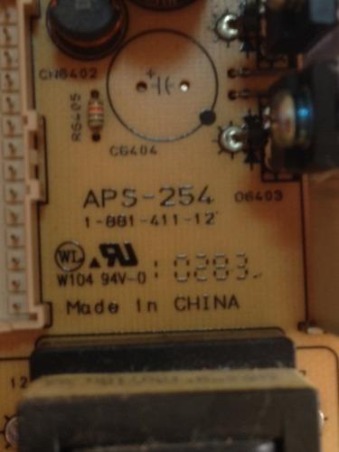 placa fonte 1-881-411-12 / aps-252 - tv sony kdl-32bx305