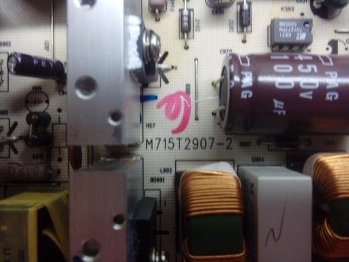 placa fonte aoc l26w831 m715t2907-2