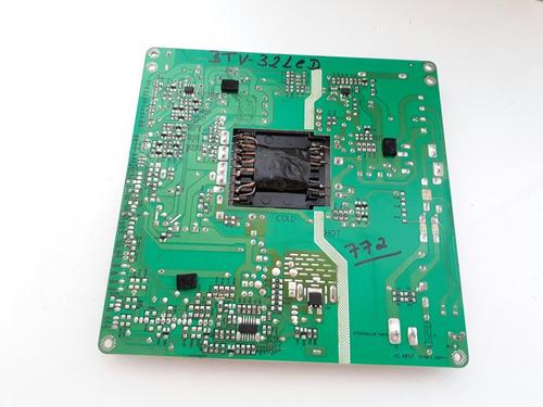 placa fonte btv-32 led mp123b rev1.0