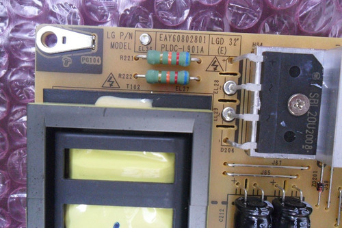 placa fonte eay60802801