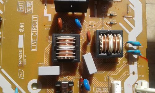 placa fonte + inverter panasonic tc l32v30b tnp a5361