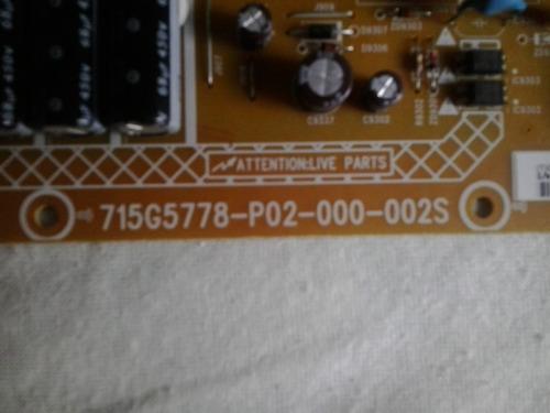 placa fonte led philips 42pfl5008g/78.