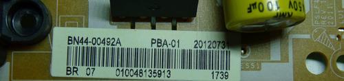 placa fonte led samsung un32eh4000 un32eh4500g bn44-00492a