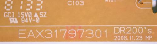 placa fonte lg dr-265 dr200 eax31797301