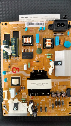 placa fonte  lh40rbhbbbg/zd tv samsung