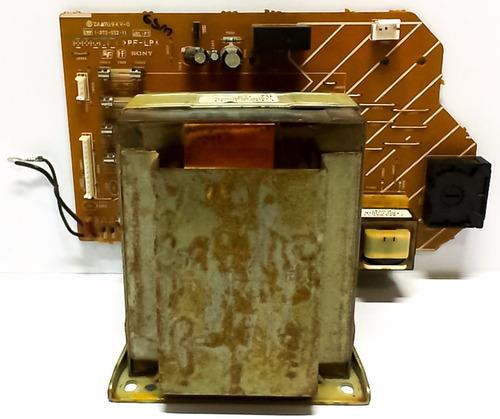 placa fonte mini system sony mhc-gt44