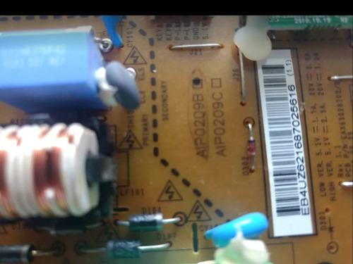 placa fonte monitor lg e2241 original