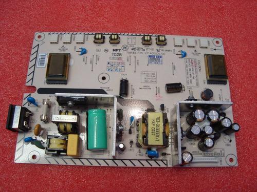 placa fonte monitor toshiba lc2077z v71a00000700 t028