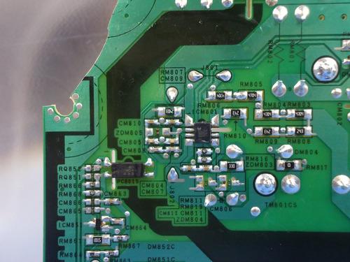 placa fonte samsung un40h5100ag p/ retirar componentes