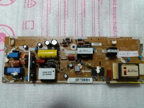 placa fonte sansung ln32c350 (bn44-00369a)