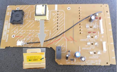 placa fonte som sony com transformador choque 1-443-927-2