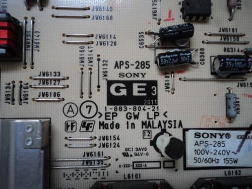 placa fonte sony kdl-40ex525 kdl-46ex525