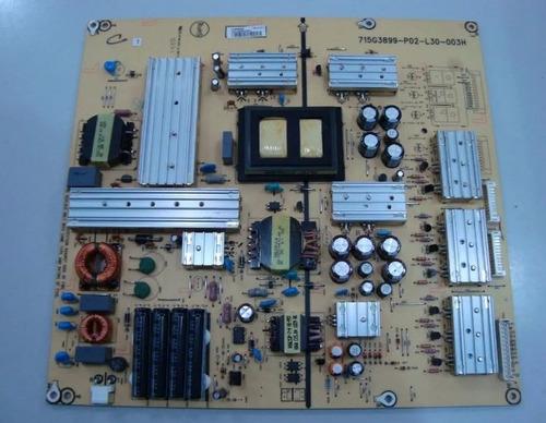 placa fonte tv aoc - le42h057d - 715g3899-p02-l30-003h