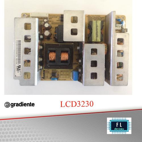 placa fonte tv gradiente  lcd 3230