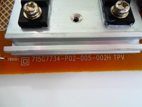 placa fonte tv led aoc le32s5970 ou le32s5970s