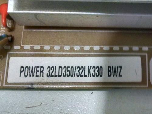 placa fonte tv lg 32ld350/32lk330/32lk450/32ld460/32cs460
