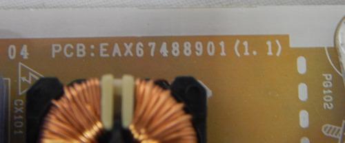 placa fonte tv lg 32lm625bpsb eax67488901(1.1)