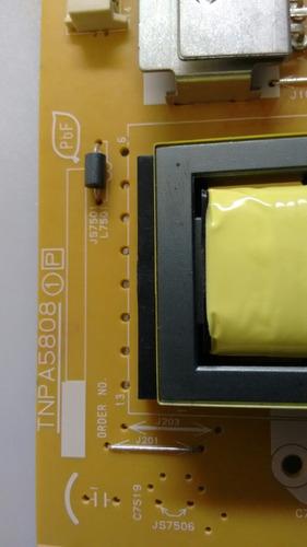 placa fonte tv panasonic led tc- l32b6b  tnpa5808