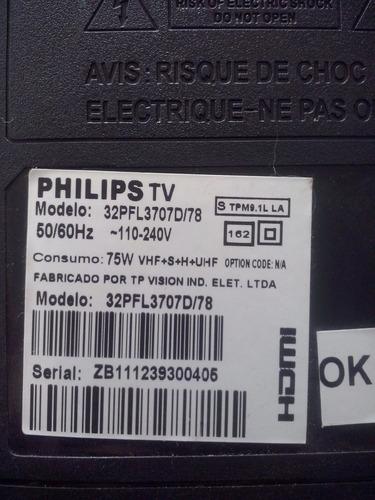 placa fonte tv philips mod 32pfl3707d/78.