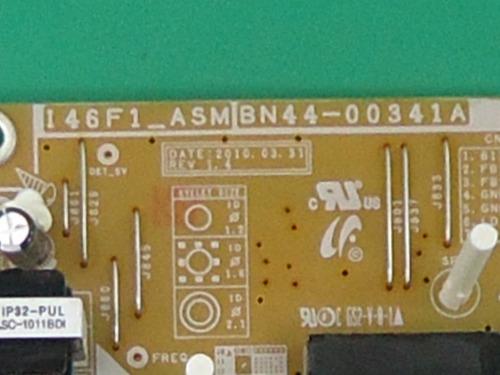 placa fonte tv samsung bn44-00341a ln46c550 ln46c650