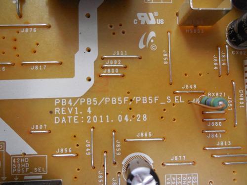 placa fonte tv samsung bn44-00442a bn44-00443a pl43d491